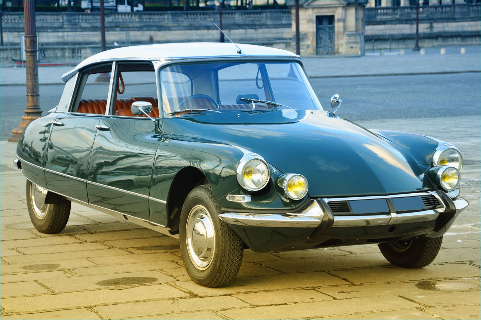 Легендарный Citroen DS 1955 года