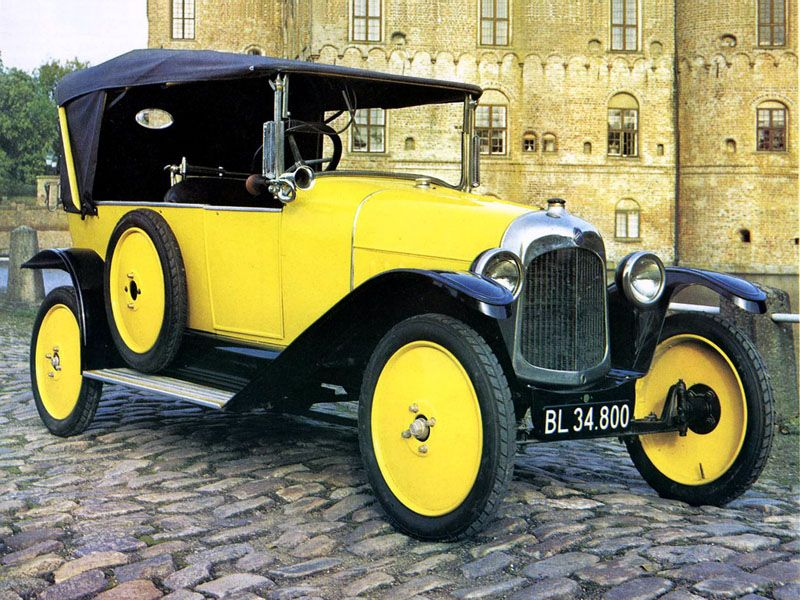 Первый автмомобиль Citroen Type A 1919 года