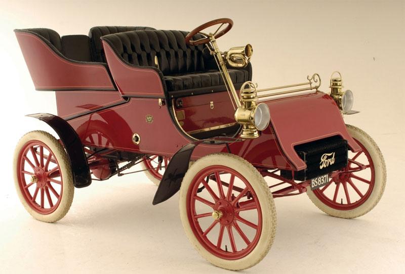 Первый автмомобиль Ford A 1903 года