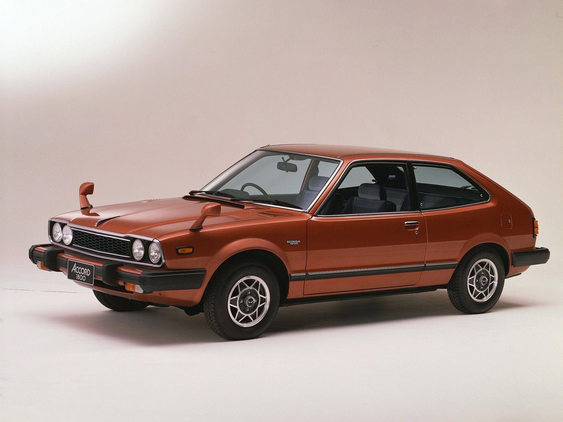 Первый Honda Accord 1976 года