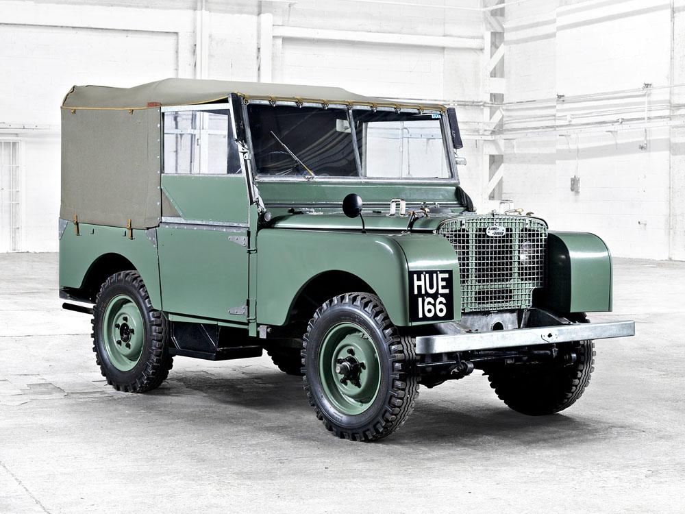 Первый Land Rover 1948