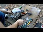 Nissan Almera Classic: замена подшипника генератора своими руками