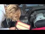 Самостоятельная замена воздушного фильтра на Mercedes C-Class