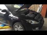 Самостоятельно меняем лампу в передней фаре Mazda 6