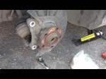 Самостоятельно меняем переднюю ступицу на Volkswagen Passat