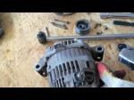 Самостоятельный демонтаж генератора Mazda 6