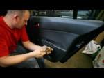 Снимаем обшивку правой двери Opel Astra H своими руками