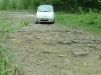 Daewoo Matiz на бездорожье