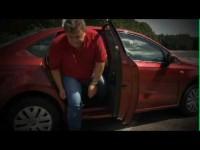 Volkswagen Polo седан - Задние сидения и багажник