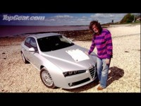 Alfa Romeo 159 James May - Top Gear тест-драйв