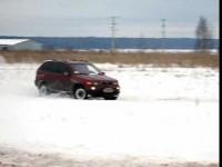 BMW X5 и BMW X3 зимний драйв