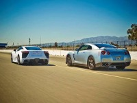 Lexus LFA против Nissan GT-R Тест Драйв