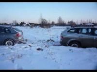 Renault Koleos зимний тест драйв