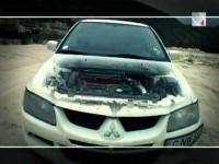 Тест Драйв Mitsubishi Lancer Evolution - Белый Самурай