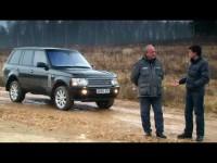 Тест-драйв Range Rover на внедорожном полигоне
