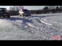 Зимний Тест Драйв УАЗ Патриот, ВАЗ - 2121 НИВА, Great Wall Hover