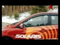 Тест-драйв Hyundai Solaris в программе Гараж