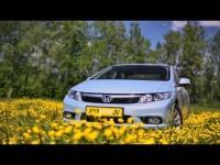 Видео тест-драйв Honda Civic от АвтоИтоги