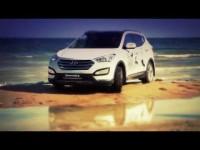 Видео тест-драйв Hyundai Santa Fe в Казахстане