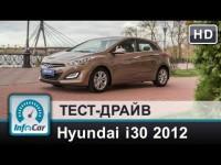 Видео тест-драйв Hyundai i30 2012 от InfoCar