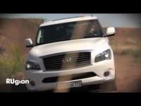 Видео тест-драйв Infiniti QX56 от Rugion