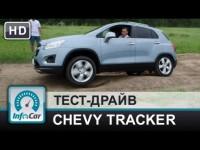 Тест-драйв Chevrolet Tracker (Шевроле Трэкер) от InfoCar
