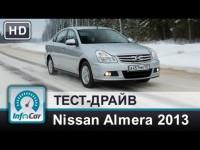 Тест-драйв Nissan Almera 2013 от InfoCar