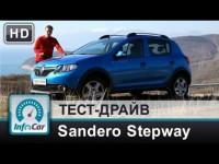 Тест-драйв Renault Sandero Stepway 2013