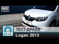Тест-драйв нового Renault (Dacia) Logan 2013 от InfoCar