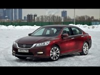 Тест драйв - новая Honda Accord 2013