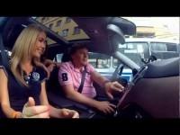 Тест драйв Mercedes-Benz ML500 в программе Москва рулит