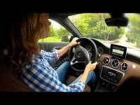 Тест драйв Merсedes-Benz A класса в программе Москва рулит