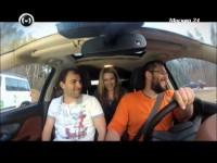 Тест-драйв Opel Mokka в программе Москва рулит
