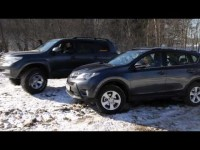 Тест драйв Toyota RAV4 в программе Москва рулит