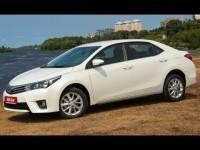 Тест-драйв и обзор Toyota Corolla 2013