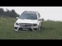Тест-драйв внедорожника Mercedes GL 500
