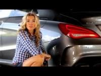 Тест-драйв Mercedes-Benz CLA в программе Москва рулит