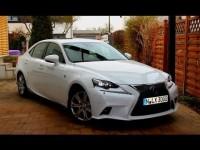 Видео тест-драйв гибридного Lexus IS 300h F-Sport