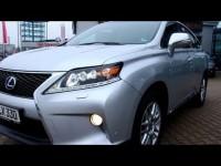 Видео тест-драйв Lexus RX 450h от AutoGid