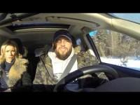 Видео тест-драйв Mitsubishi Outlander 3 в программе Москва рулит