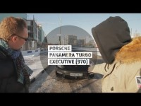 Видео тест-драйв Porsche Panamera Turbo Executive от Стиллавина