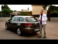 Видео тест-драйв Seat Leon ST 2014