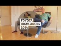 Видео тест-драйв нового Toyota Highlander 2014 от Стиллавина