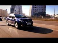 Тест-драйв Peugeot 2008 в программе Москва рулит