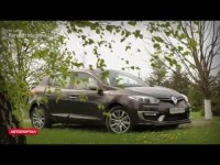 Тест драйв нового Renault Megane 2014