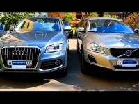 Сравнительный тест-драйв Audi Q5 и Volvo XC60