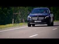 Тест-драйв Mercedes GLA 1.6L с Александром Михельсоном
