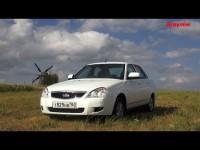 Тест-драйв новой Lada Priora с роботом от Зарулем