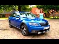 Видео тест драйв Skoda Octavia Scout 2014
