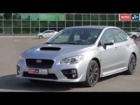 Видео тест-драйв Subaru Impreza WRX 2015 года